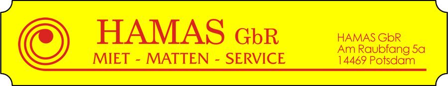 Schmutzfangmatten mieten und kaufen : HAMAS GbR